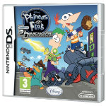 Phineas Ferb 2nd Dimension Nintendo DS