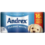 Andrex Toilet Rolls Pack of 16