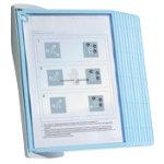 DURABLE Display Panel Sherpa Bact O Clean Wall 10 Multi A4 Display Panel Polypropylene Base Metal 345 x 265 mm