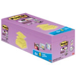 Post it Z Sticky Notes Super Sticky Yellow 76 x 76 cm 70gsm