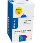 Pilot Ballpoint Pen Super Grip G 027 mm Multicolour Box 40
