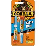 Gorilla Super Glue 2 x 3 g Tubes