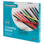 Classmaster Colouring Pencils Assorted Class Box of 500