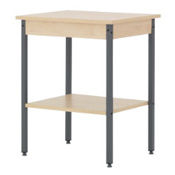 Office Depot Classic two-tier telephone table maple
