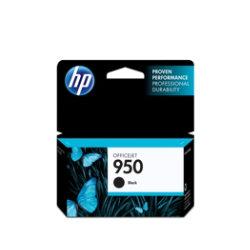 Original HP No.950 black printer ink cartridge CN049A