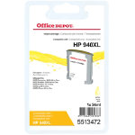 Office Depot Compatible HP 940XL Yellow Inkjet Cartridge C4909A