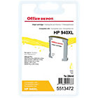 Office Depot compatible HP 940XL C4907A yellow ink cartridge