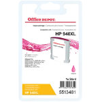 Office Depot Compatible HP 940XL Magenta Inkjet Cartridge C4908A