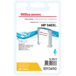 Office Depot Compatible HP 940XL Cyan Inkjet Cartridge C4907A