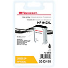 Office Depot Compatible for HP 940XL Black Ink Cartridge C4906AE