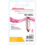 Office Depot Compatible hp 920XL Ink Cartridge cd973ae Magenta
