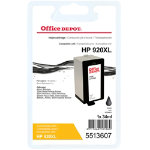 Office Depot Compatible for HP 920XL Black Ink Cartridge CD975A