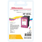 Office Depot Compatible for HP 301XL 3 Colours Ink Cartridge CH564EE
