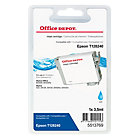 Office Depot Compatible for Epson T1282 Cyan Ink Cartridge T12824010