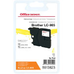 Office Depot Compatible Brother LC985Y Yellow Inkjet Cartridge