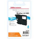 Office Depot Compatible Brother LC985C Cyan Inkjet Cartridge