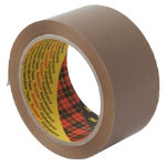 Scotch Low Noise Brown Packaging Tape 50m x 66m