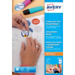 Avery Reward Stickers E3613 White 192 Labels per pack Pack 8