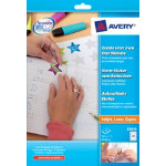 Avery E3610 Create Your Own Star Stickers 24 Labels per Sheet