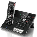 BT Cordless Dect Telephone Diverse 7460 Black