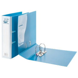 Pukka Products Polypropylene Lever Arch File A4 Turquoise