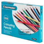 Classmaster Colouring Pencils Assorted Class Box of 288