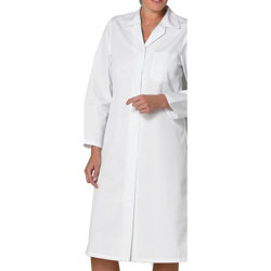 Alexandra Ladies Coat White Chest size 84 cms Personalised