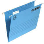 Elba Vertic Flex Ultimate Suspension File A4 Blue Pack of 25
