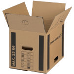 Cargo Box Plus Cardboard Boxes 400x320x320mm Pack of 10