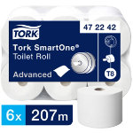 Tork Toilet Paper Advanced 2 ply Pack 6