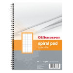 Office Depot Spiral bound notebook White Squared 5x5 No A5