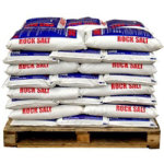 Brown de icing rock salt 5 x 25kg bags