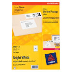 Avery J5101 Online Postage SmartStamp Laser Labels 69 x 38mm 20 Labels per Sheet J5101 25