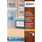 Avery L7108REV Removable Product Labels 62 x 89mm 9 Labels per Sheet L7108REV 20