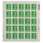 Royal Mail 20 pence stamps pack of 25