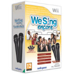 We Sing Encore with 2 Microphones WII