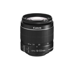 Canon Digital SLR Camera Lens - EF-S 18-55MM F/3.5-5.6 IS II