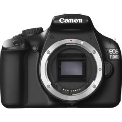 Canon EOS 1100D 12 Megapixel Digital SLR Camera Body - Black