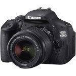 Canon EOS 600D 18MP Digital SLR Camera with 18 55mm Lens