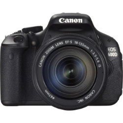 Canon EOS 600D Digital SLR Camera with 18-135mm Lens