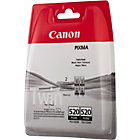 Canon PGI 520BK Black Inkjet Cartridge Twin Pack