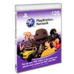 Playstation Network Card pound25