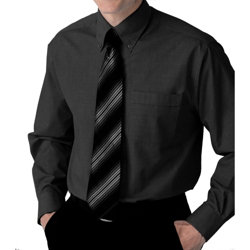 Alexandra Men s Long Sleeved Shirt Black 165 collar