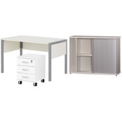 Black & White office furniture range Black furniture bundle