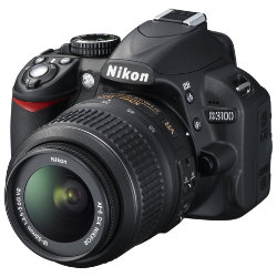 NIKON D3100 Digital SLR Camera with 18-55mm Zoom Lens