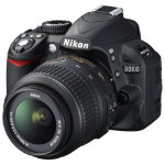 NIKON D3100 Digital SLR Camera with 18 55mm Zoom Lens