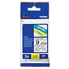 Brother P Touch TZE121 Label Tape 9mm x 8m Black On Clear
