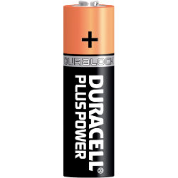 Duracell Power Plus Alkaline 1.5V AA Batteries Pack of 4