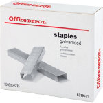Office Depot Staples Chrome 23 15 Box of 1000