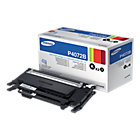 Samsung Original CLT P4072B Black Laser Toner Cartridge Twin Pack